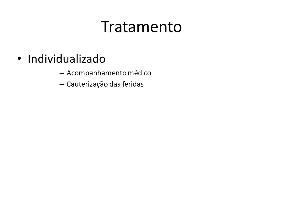 Tratamento Individualizado Acompanhamento médico