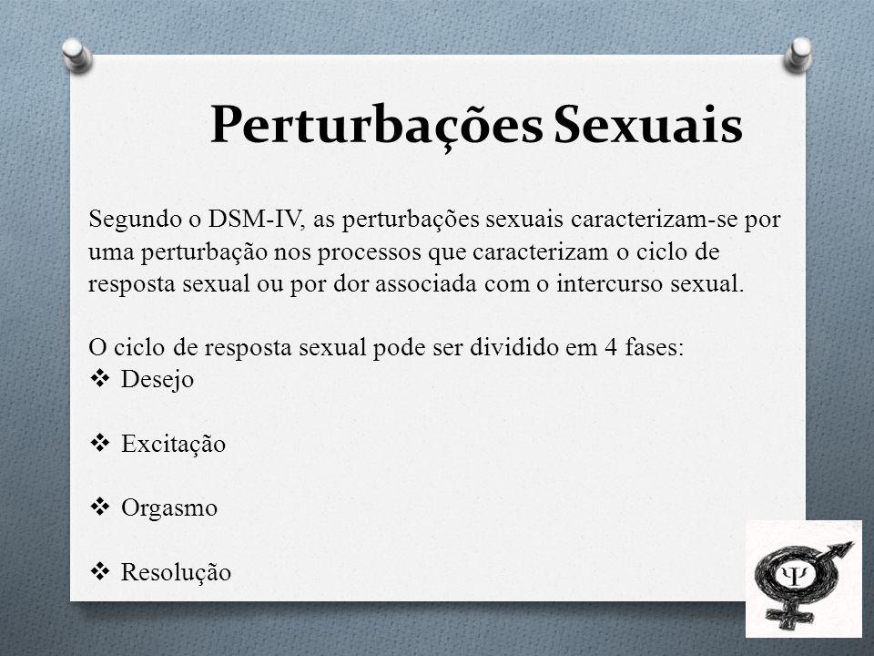 Perturbações Sexuais