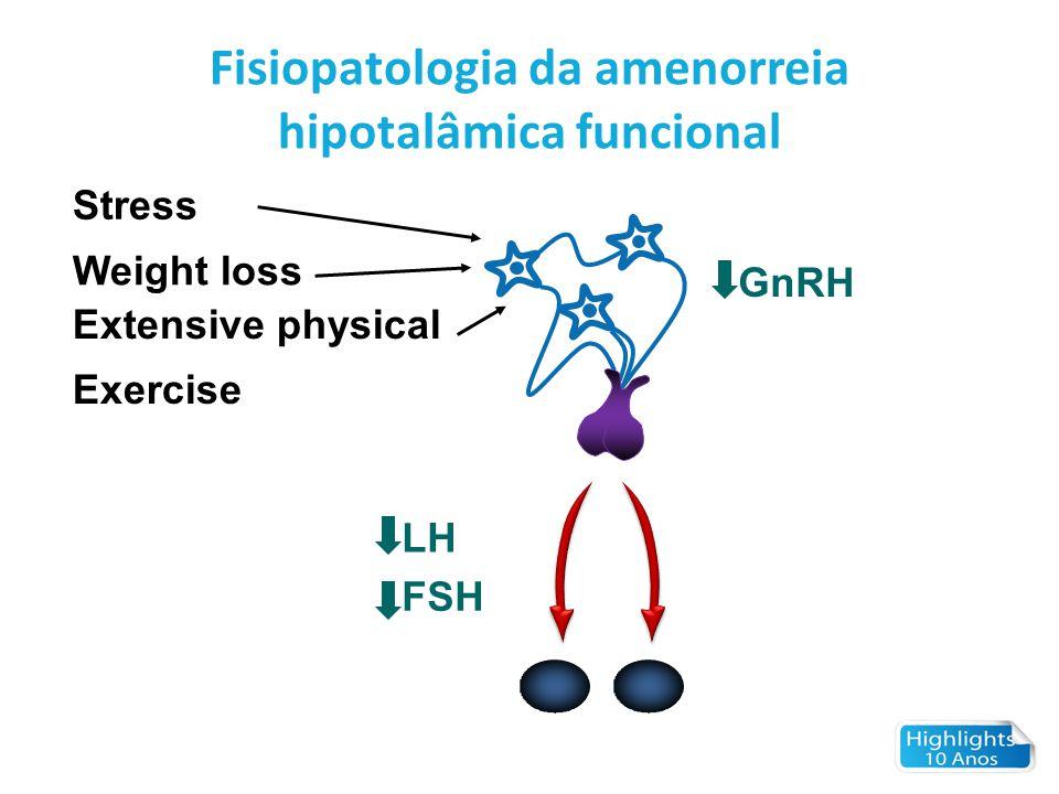 Fisiopatologia da amenorreia hipotalâmica funcional