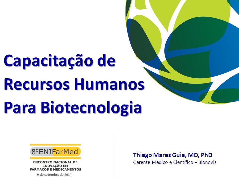 Capacitação de Recursos Humanos Para Biotecnologia