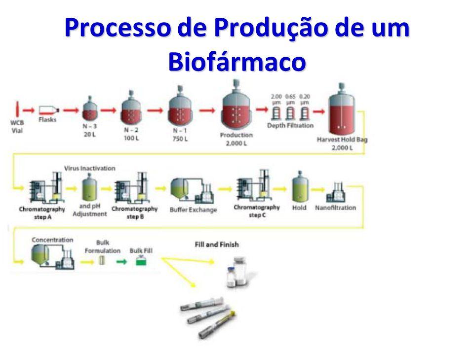 Processo de Produção de um Biofármaco