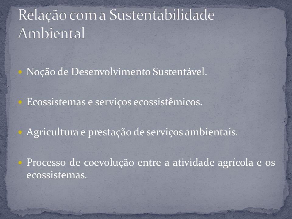 Relação com a Sustentabilidade Ambiental