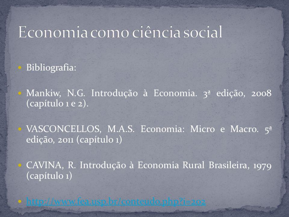 Economia como ciência social