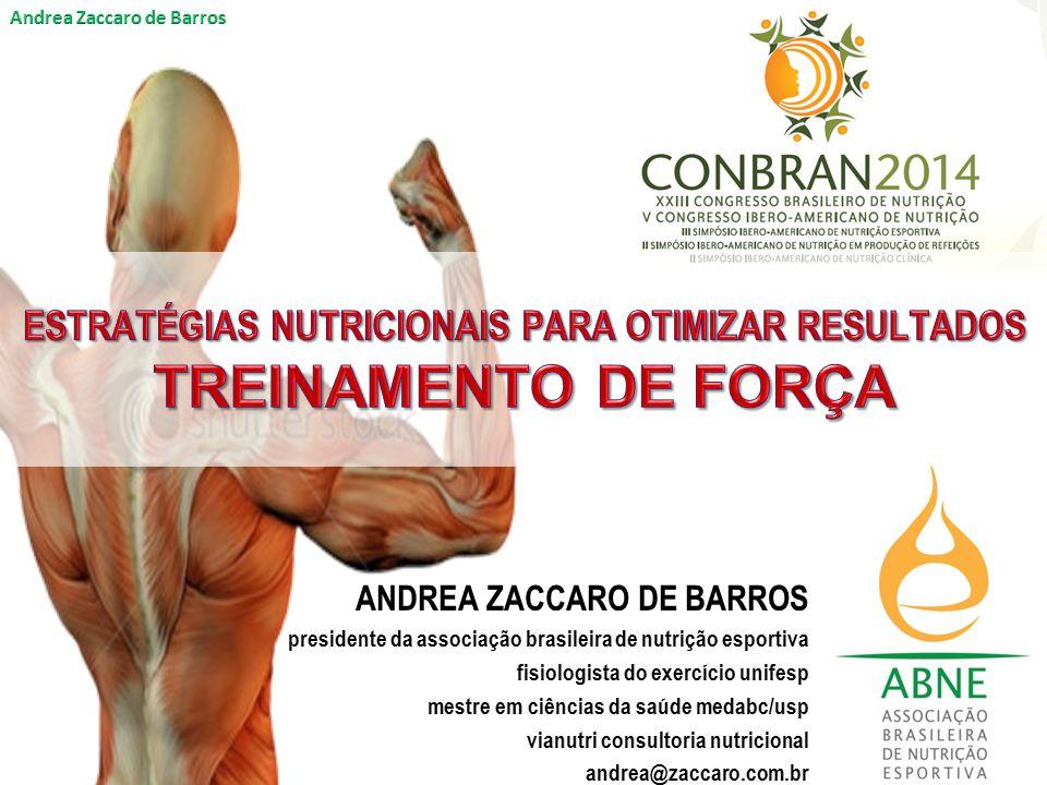 ESTRATÉGIAS NUTRICIONAIS PARA OTIMIZAR RESULTADOS TREINAMENTO DE FORÇA
