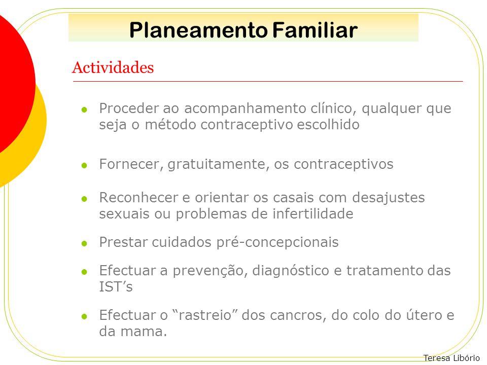 Planeamento Familiar Actividades