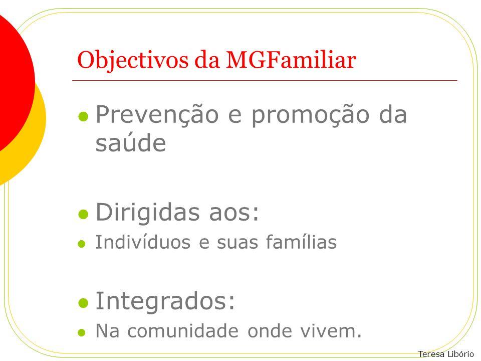 Objectivos da MGFamiliar