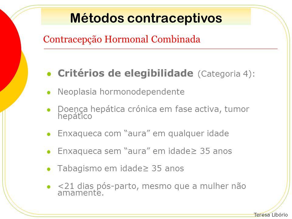 Contracepção Hormonal Combinada