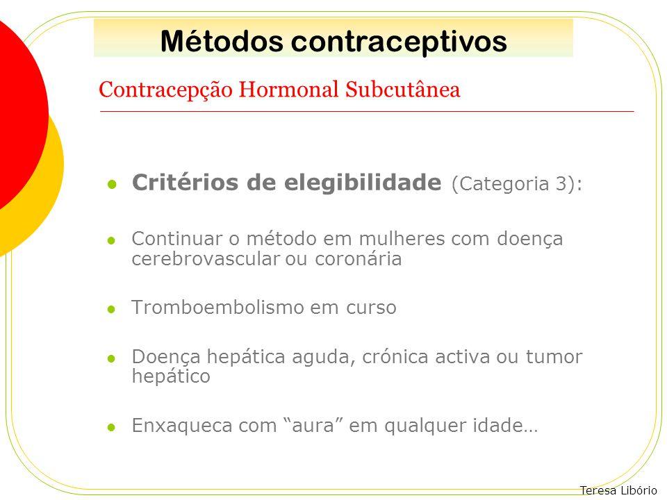 Contracepção Hormonal Subcutânea