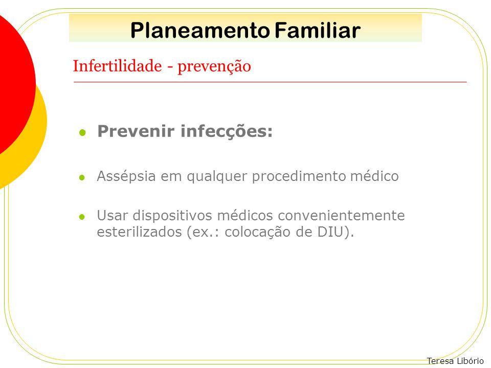 Infertilidade - prevenção