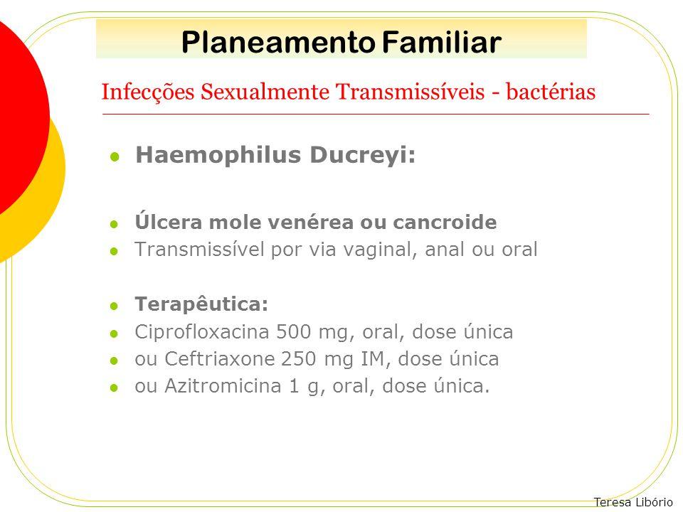 Infecções Sexualmente Transmissíveis - bactérias