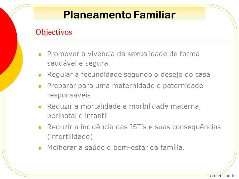 Planeamento Familiar Objectivos