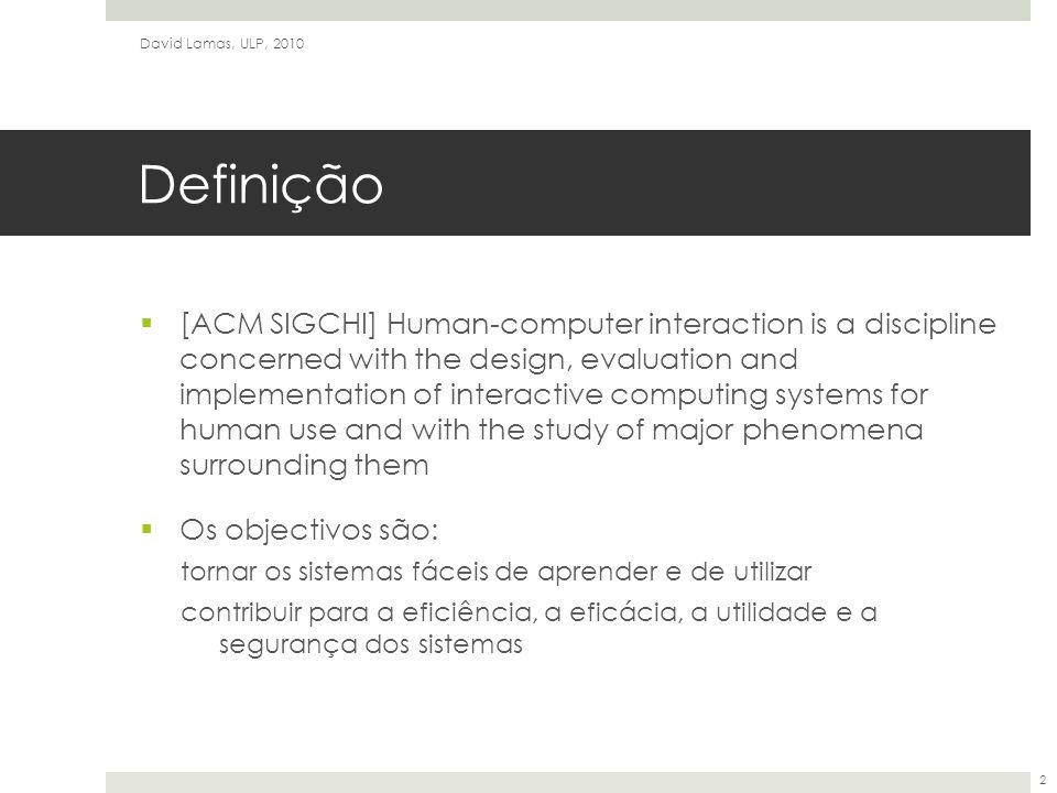 David Lamas, ULP, 2010 Definição.