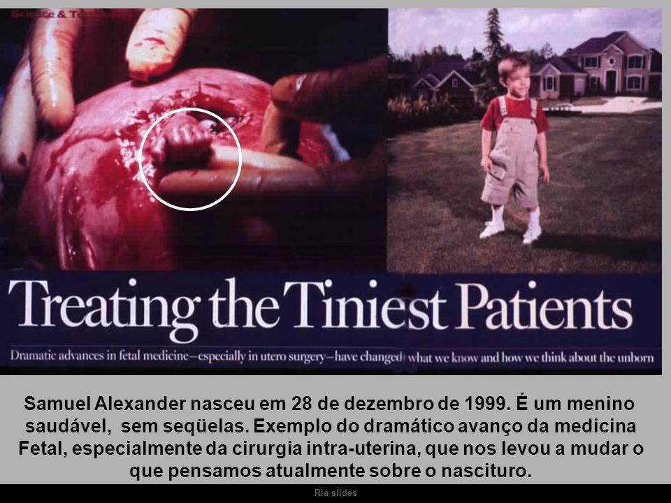 Samuel Alexander nasceu em 28 de dezembro de 1999. É um menino