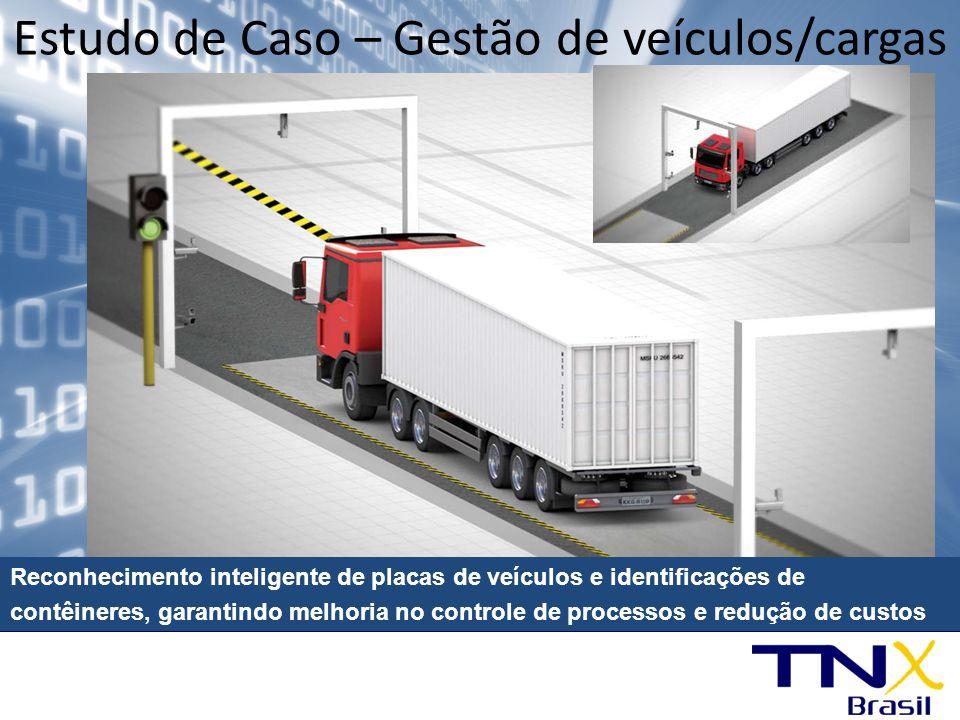 Estudo de Caso – Gestão de veículos/cargas