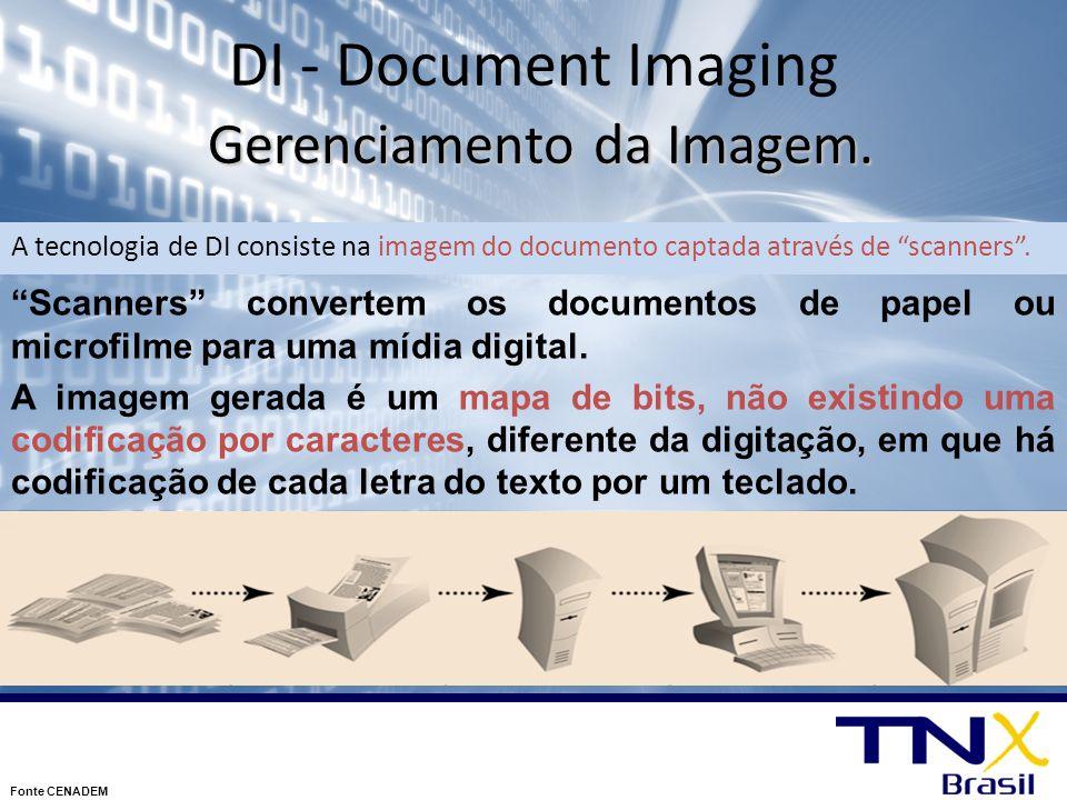 DI - Document Imaging Gerenciamento da Imagem.