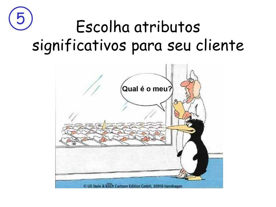 O que serve para um cliente pode não servir para o próximo