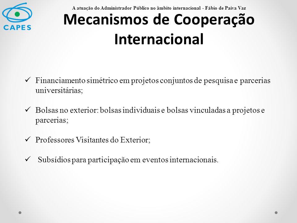 Mecanismos de Cooperação Internacional