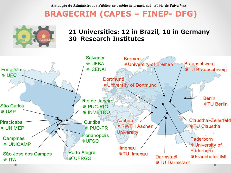 BRAGECRIM (CAPES – FINEP- DFG)