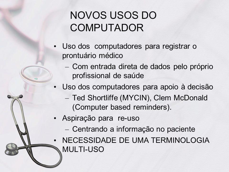 NOVOS USOS DO COMPUTADOR