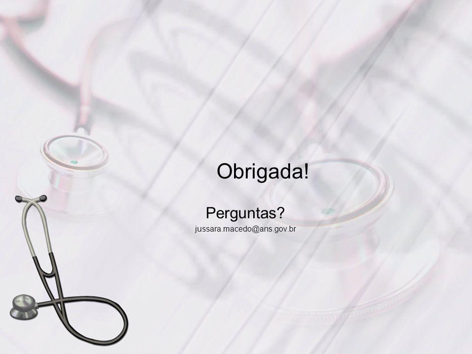 Perguntas jussara.macedo@ans.gov.br