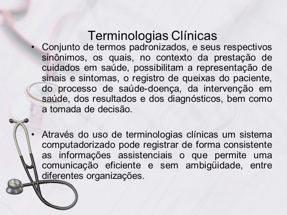 Terminologias Clínicas