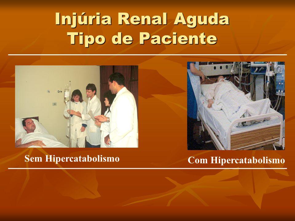 Injúria Renal Aguda Tipo de Paciente