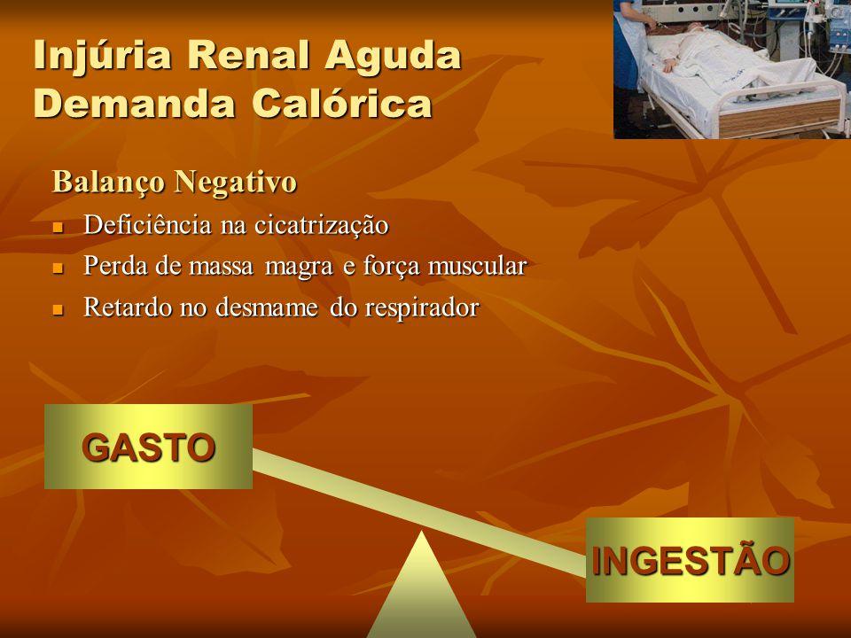 Injúria Renal Aguda Demanda Calórica