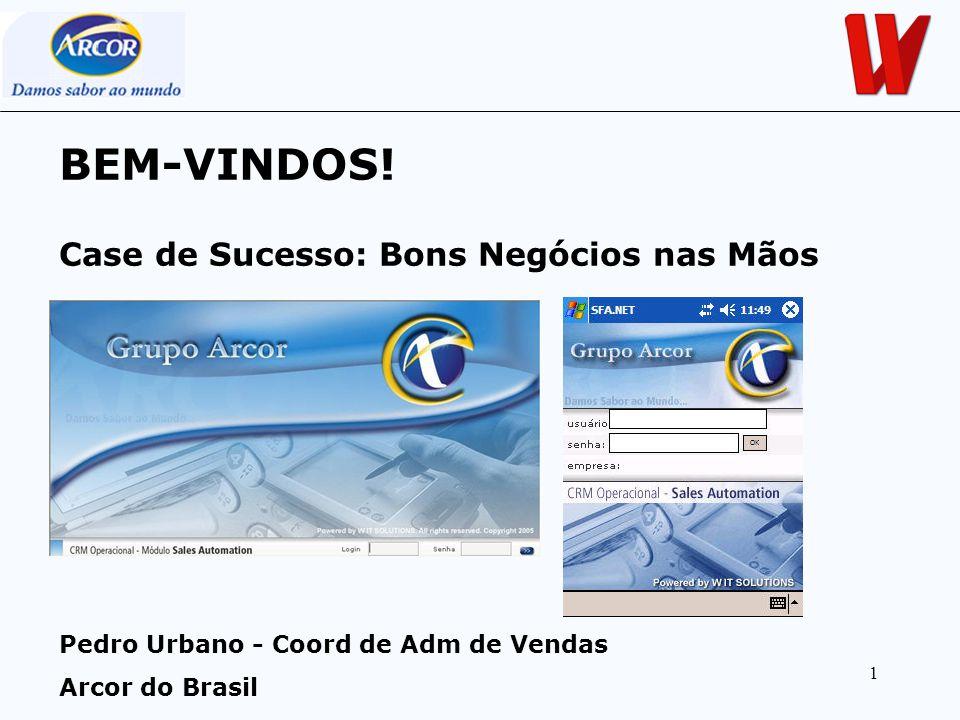BEM-VINDOS! Case de Sucesso: Bons Negócios nas Mãos