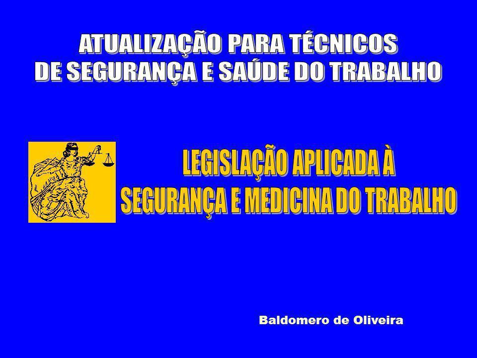 ATUALIZAÇÃO PARA TÉCNICOS DE SEGURANÇA E SAÚDE DO TRABALHO