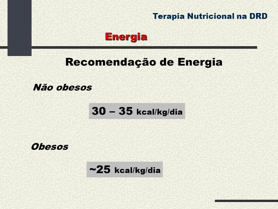 Recomendação de Energia