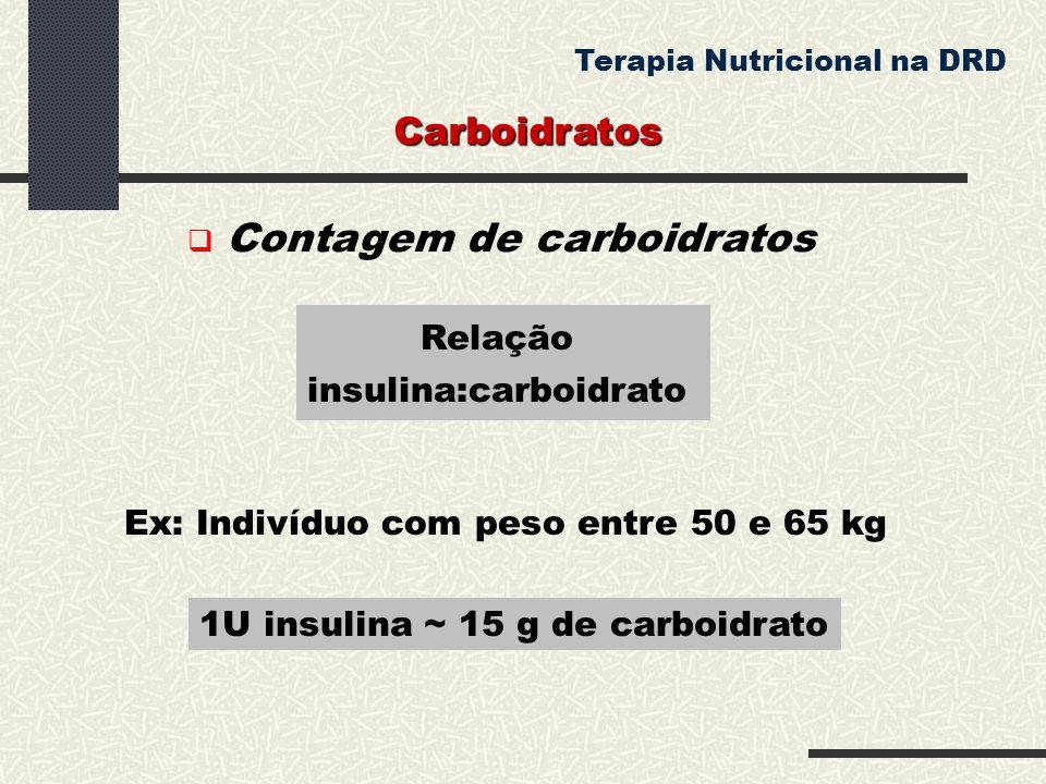 insulina:carboidrato