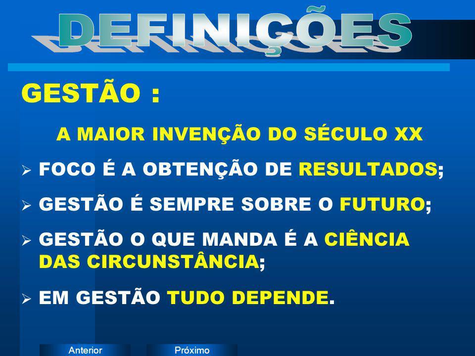 A MAIOR INVENÇÃO DO SÉCULO XX
