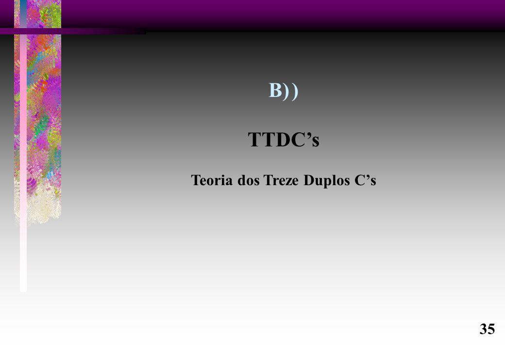 Teoria dos Treze Duplos C's