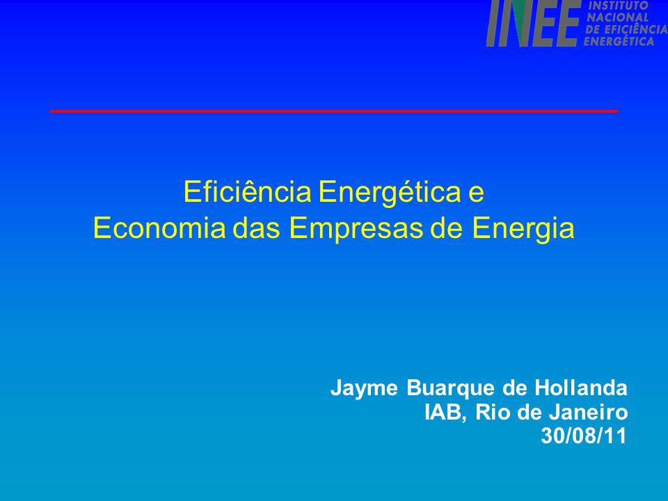 Eficiência Energética e Economia das Empresas de Energia