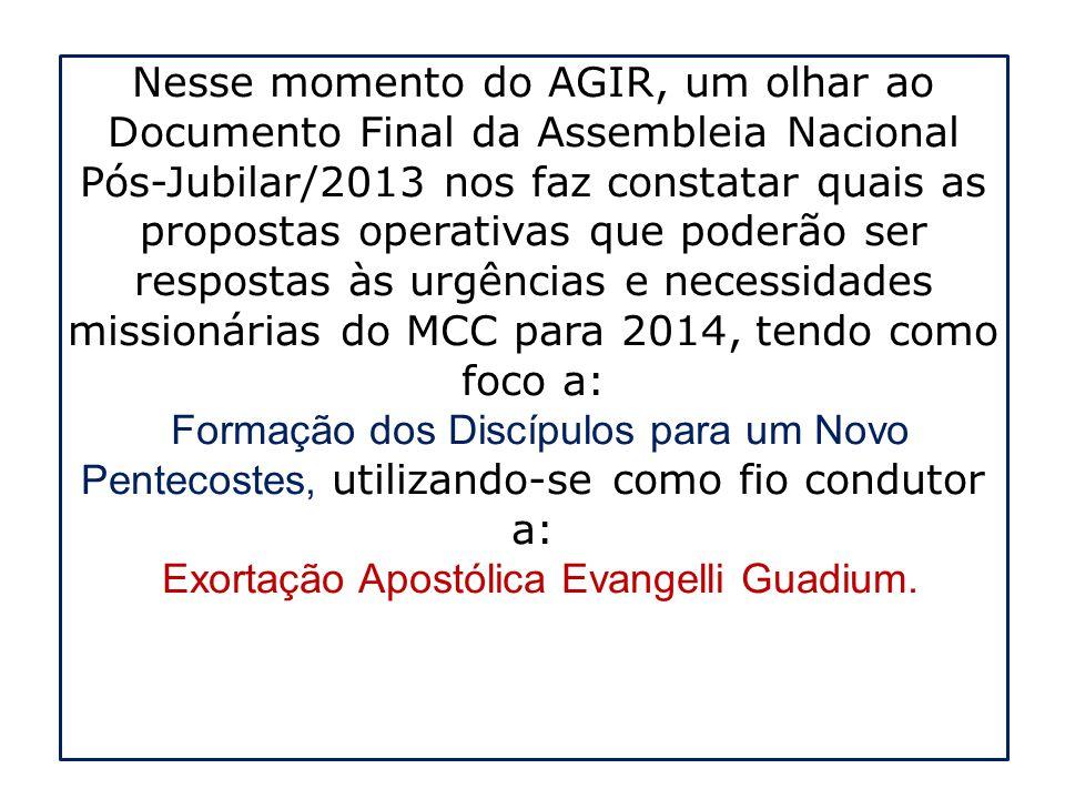 Exortação Apostólica Evangelli Guadium.