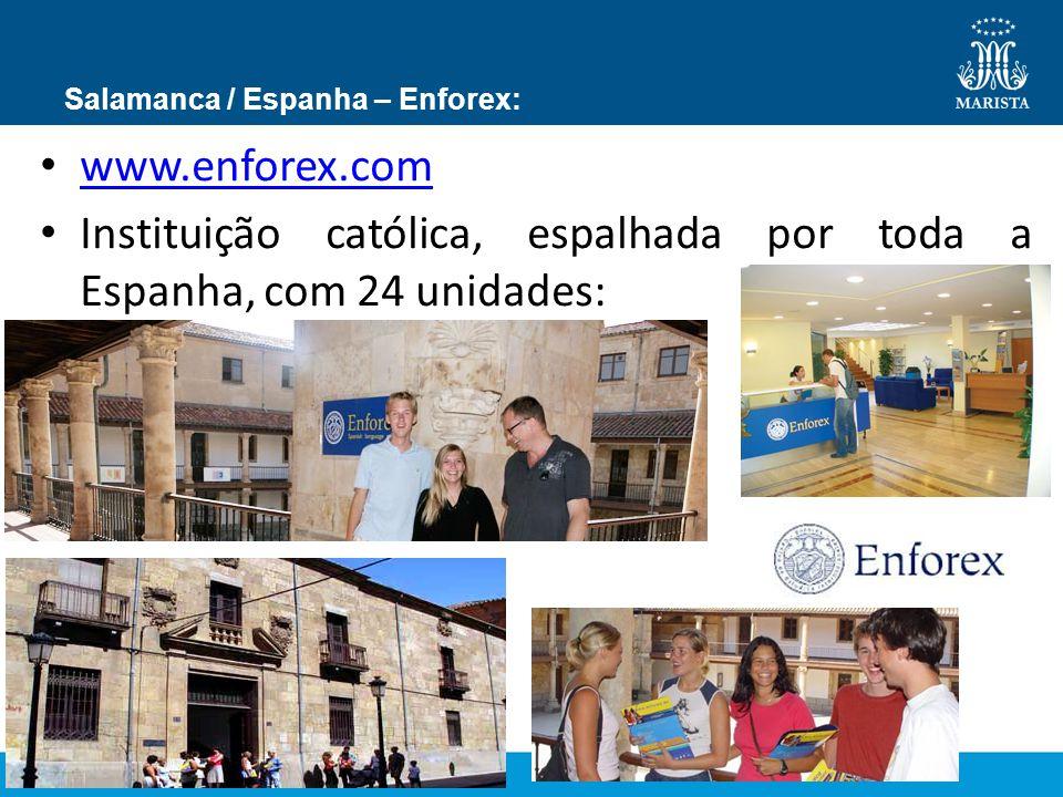 Salamanca / Espanha – Enforex: