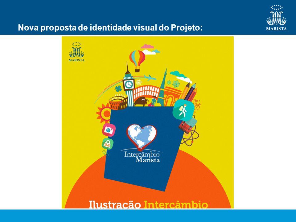 Nova proposta de identidade visual do Projeto: