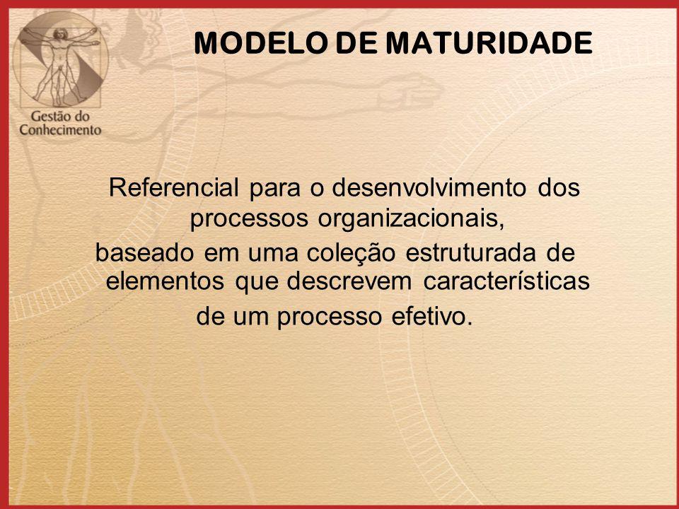 Referencial para o desenvolvimento dos processos organizacionais,