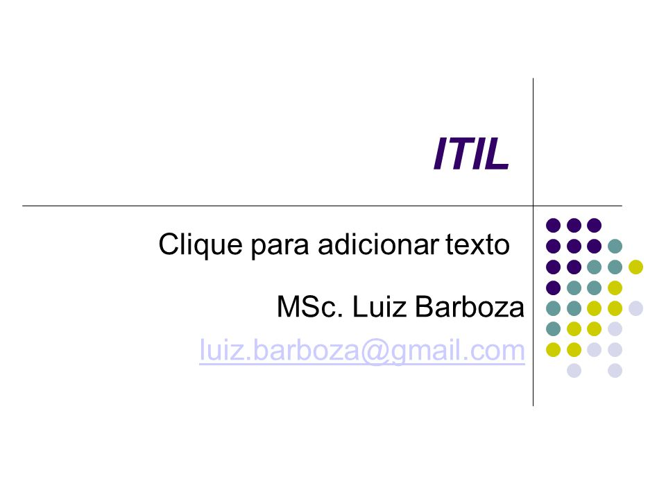 MSc. Luiz Barboza luiz.barboza@gmail.com