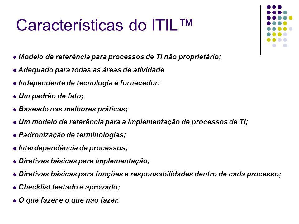 Características do ITIL™
