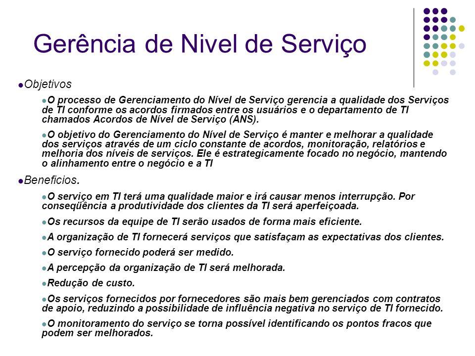 Gerência de Nivel de Serviço