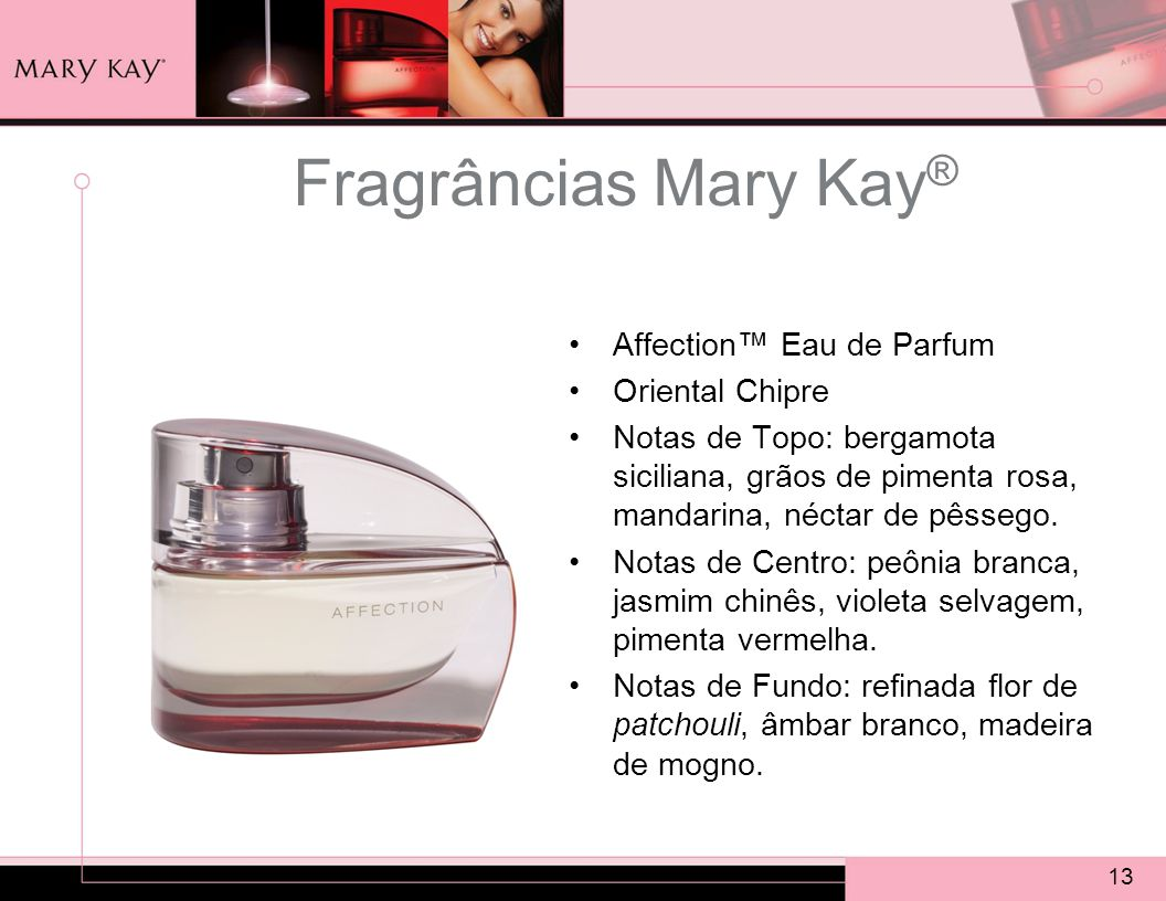 Fragrâncias Mary Kay® Affection™ Eau de Parfum Oriental Chipre