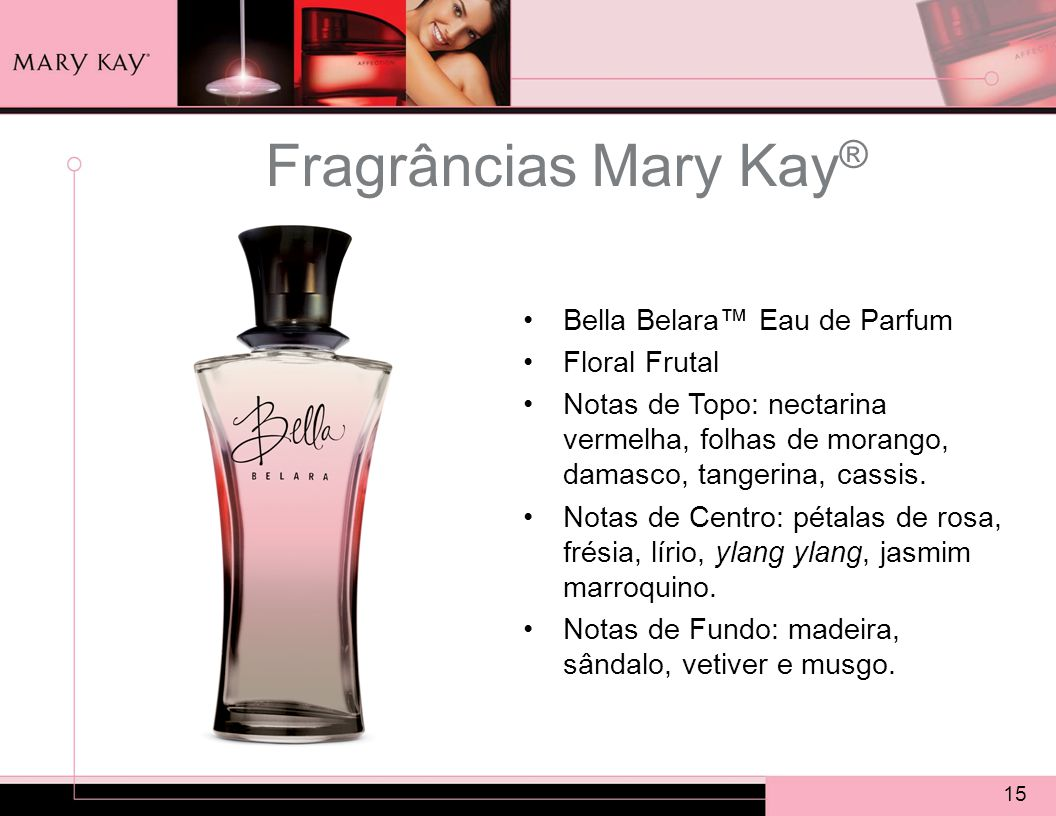 Fragrâncias Mary Kay® Bella Belara™ Eau de Parfum Floral Frutal