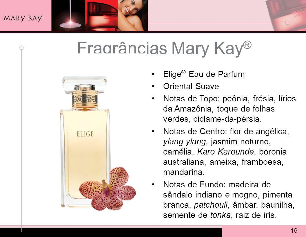 Fragrâncias Mary Kay® Elige® Eau de Parfum Oriental Suave