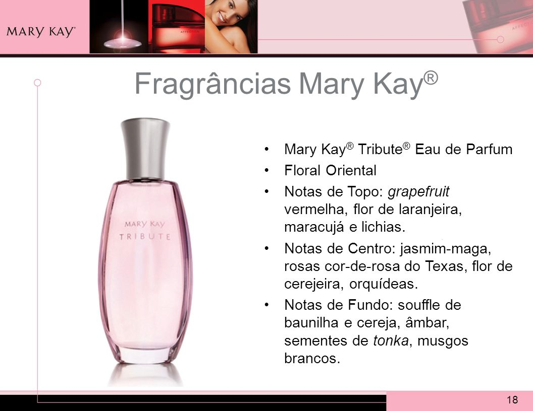 Fragrâncias Mary Kay® Mary Kay® Tribute® Eau de Parfum Floral Oriental