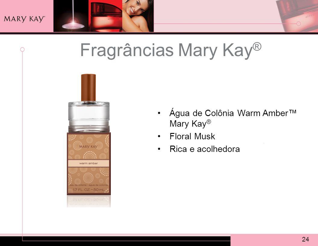 Fragrâncias Mary Kay® Água de Colônia Warm Amber™ Mary Kay®