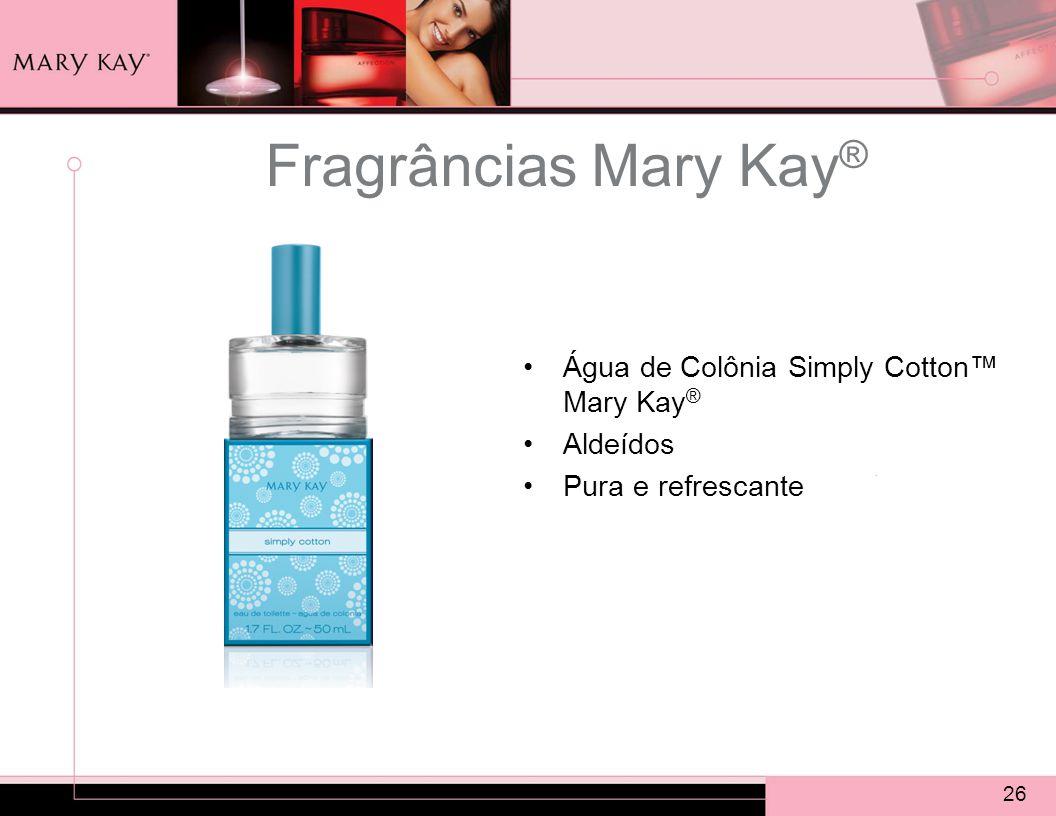 Fragrâncias Mary Kay® Água de Colônia Simply Cotton™ Mary Kay®