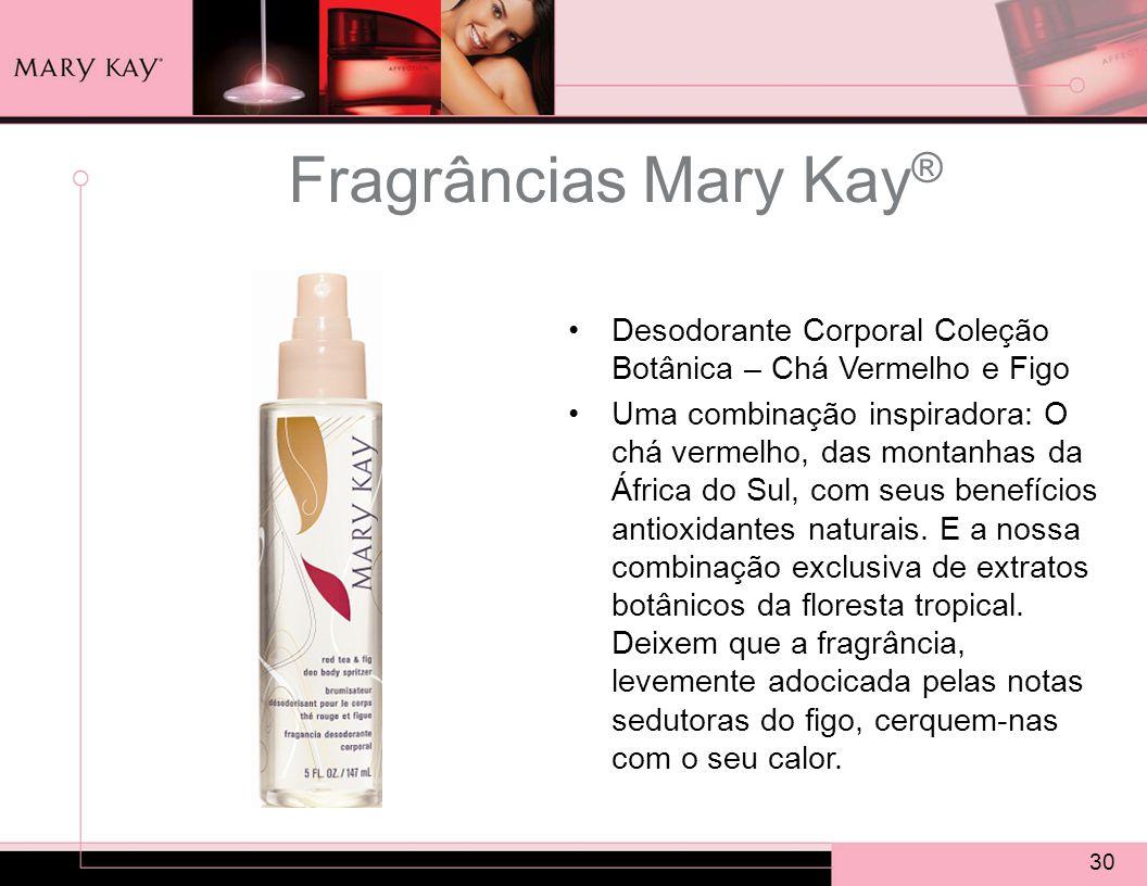 Fragrâncias Mary Kay® Desodorante Corporal Coleção Botânica – Chá Vermelho e Figo.