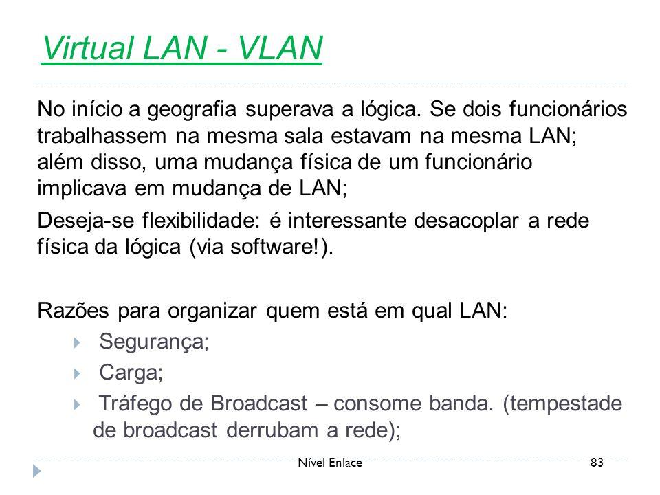 Virtual LAN - VLAN