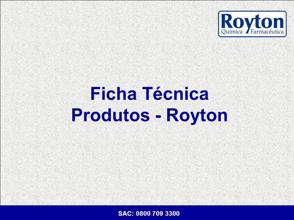 Ficha Técnica Produtos - Royton